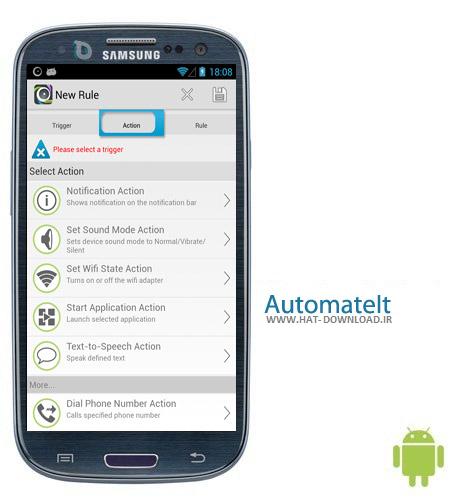 AutomateIt Pro 4.0.101 نرم افزار انجام خودکار وظایف AutomateIt Pro 4.0.101 – اندروید