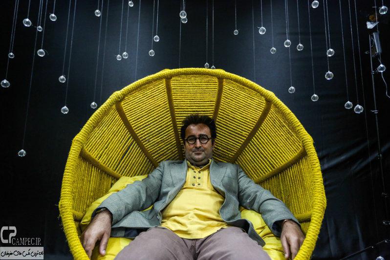 مهران احمدی در پشت صحنه مجموعه ابله