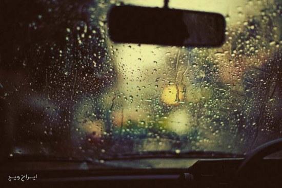 باران در تاکسی