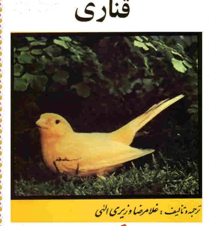Image result for کتاب درمورد قناری