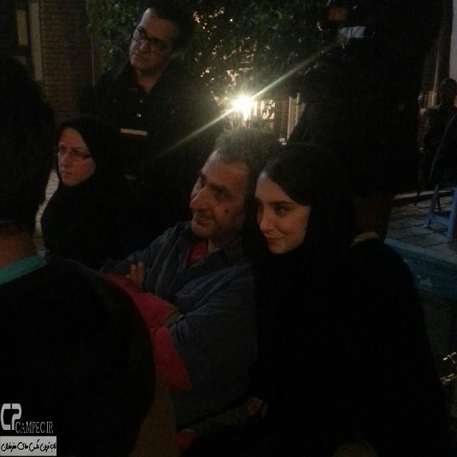 عکس های جدید سحر جعفری جوزانی در پشت صحنه فیلم ایران برگر