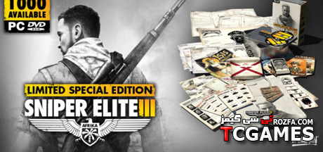 سیو کامل و 100% بازی اسنایپر الیت Sniper Elite 3
