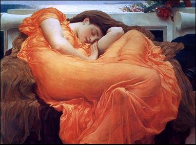 زنی در خواب