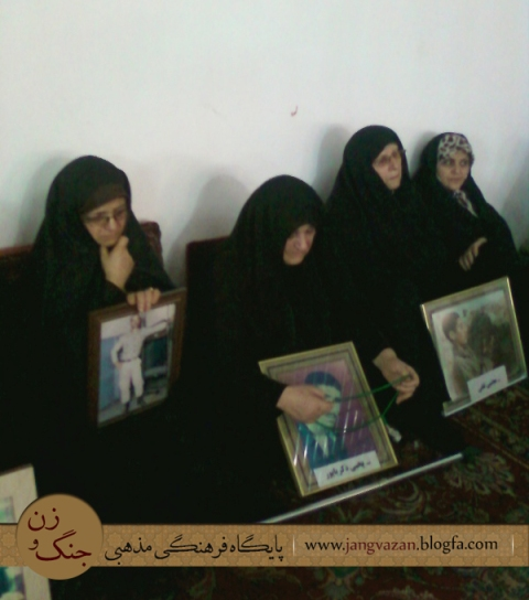 پیام محرم خانواده ی شهدا در آمل + گزارش تصویری