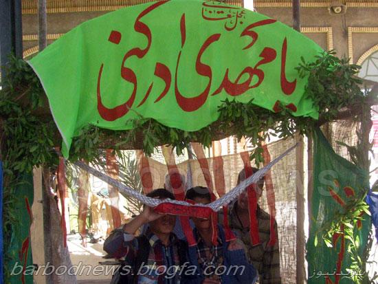 اعزام کاروان راهیان نور دانش آموزی از جهرم آبان 93