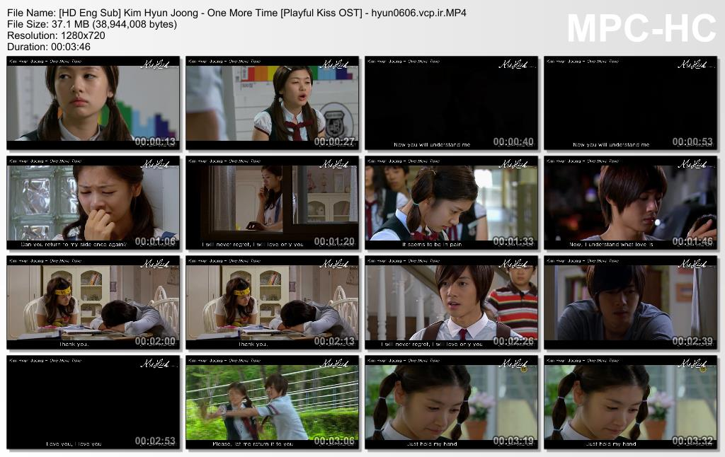 [HD Eng Sub] Kim Hyun Joong - One More Time [Playful Kiss OST]