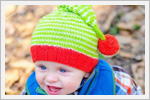 مدل کلاه بچه گانه پسرونه ( بافت دومیل)