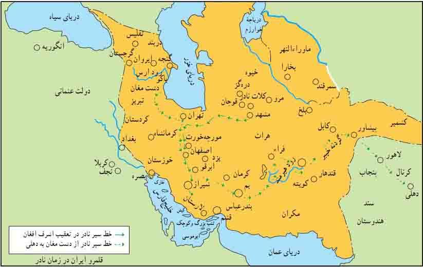 قلمرو افشاریه