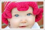 مدل کلاه بچه گانه دخترونه ( بافت دومیل)