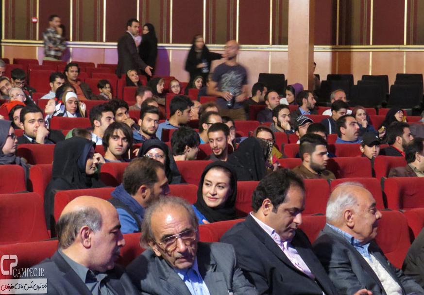 عکس های مریلا زارعی در  اختتامیه نخستین جشنواره فیلم های موبایلی