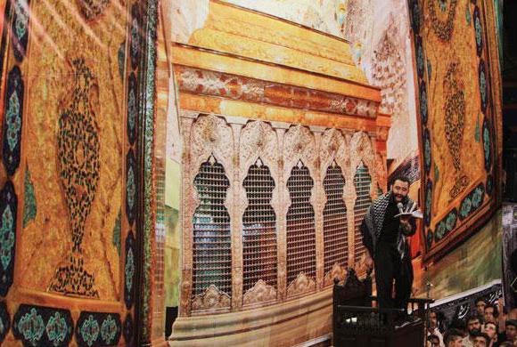 کربلایی جواد مقدم شب اول محرم 93 در هیئت خادم الرضا قم