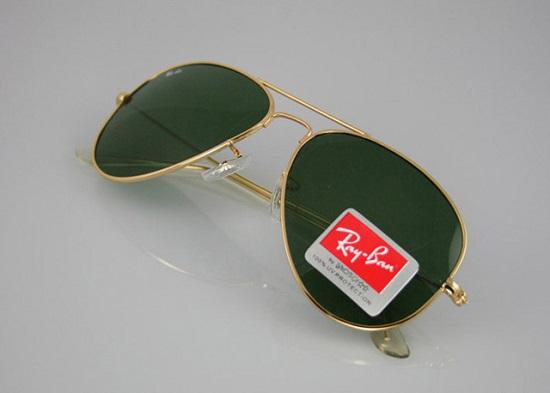 خرید اینترنتی عینک آفتابی ریبن طلایی | بیا TO عینک