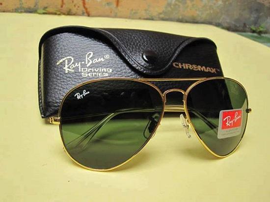 عینک آفتابی ریبن طلایی | بیا TO عینک