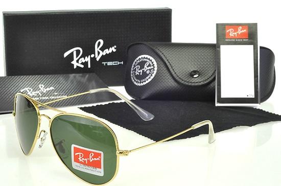 خرید عینک آفتابی ریبن طلایی | بیا TO عینک