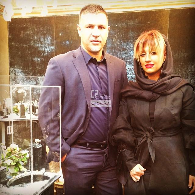 عکس های جدید علی دایی با همسرش