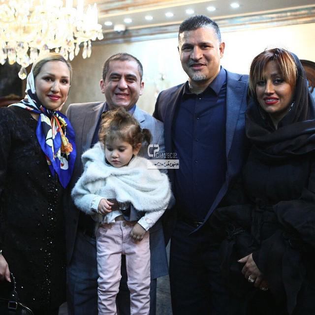 عکس های علی دایی با همسرش در افتتاح گالری جواهرات