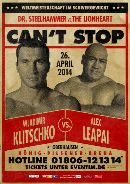دانلود مسابقه قهرمانی سنگین وزن بوکس  Wladimir Klitschko vs. Alex Leapai