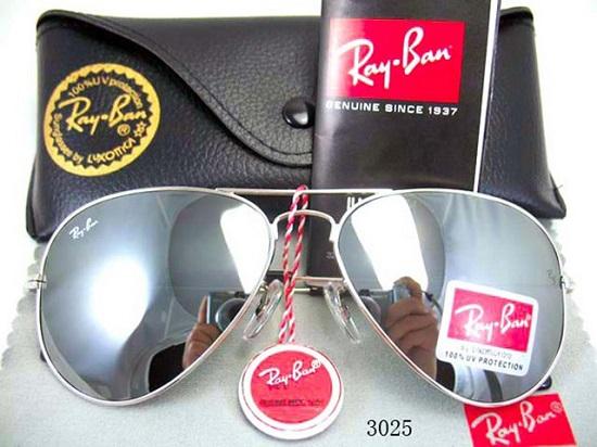 عینک آفتابی ریبن نقره ای | بیا TO عینک