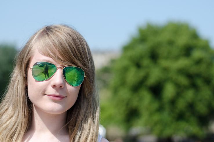 عینک آفتابی ریبن زنانه جدید