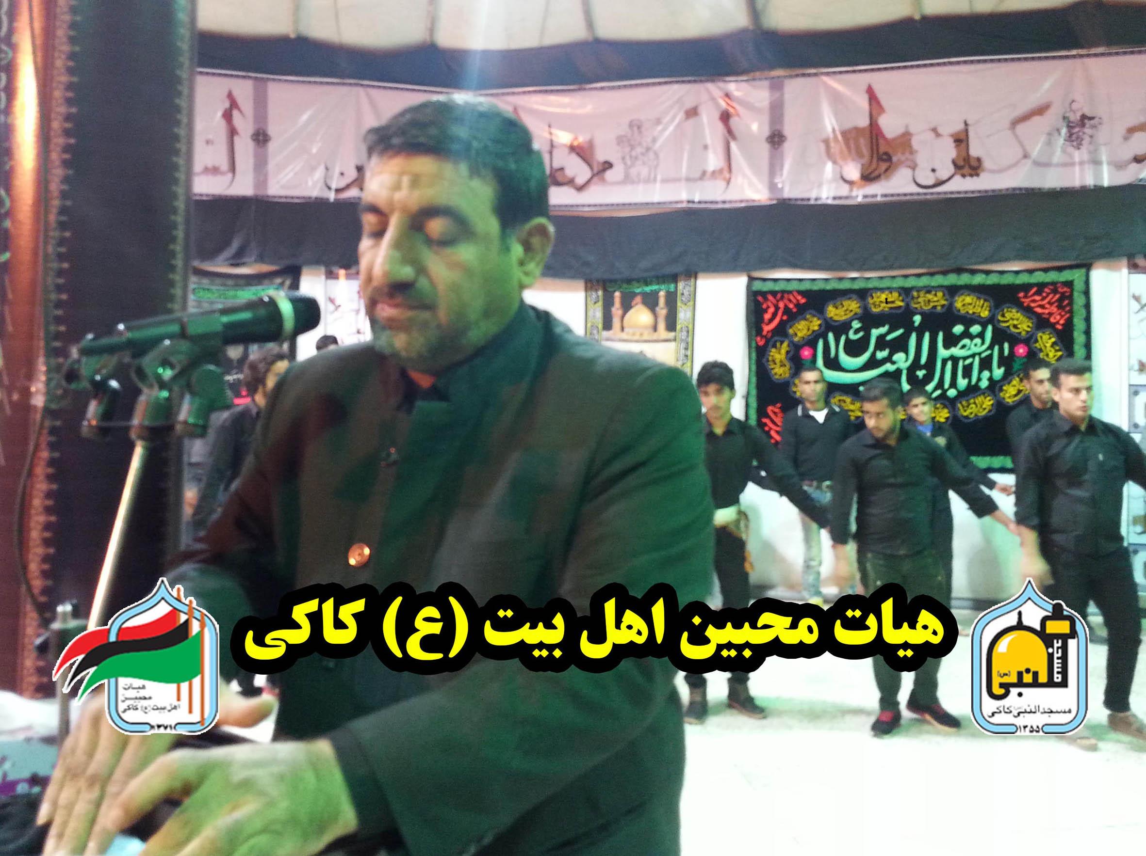 مراسم شب نهم صفر المظفر با نوای کربلایی  حسن توزی