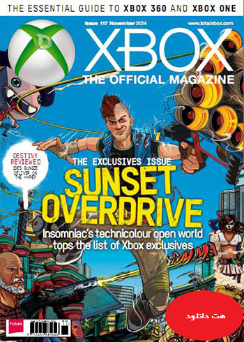 Official Xbox magazin UK 2014 nov  دانلود مجله Xbox Official Magazine UK – November 2014