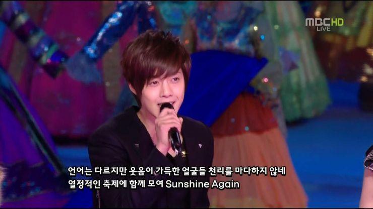 Kim Hyun Joong Guangzhou Asian Games 2010.11.12