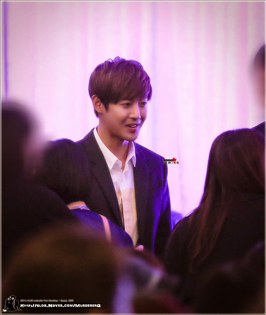 [MurdererQ Photo] Kim Hyun Joong - LOTTE Fan Meeting in Seoul [14.10.25]
