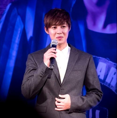 [Captures] Kim Hyun Joong - LOTTE Fan Meeting in Seoul [14.10.25]