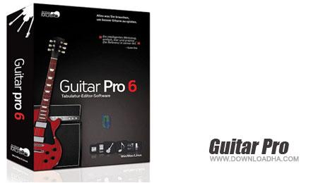 دانلود نرم افزار گیتار پرو Guitar Pro 6.0.8 r9626 Final