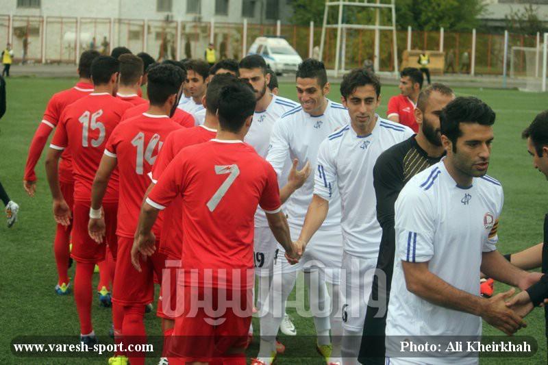 گزارش تصویری بازی داماش گیلان و راهیان کرمانشاه 1