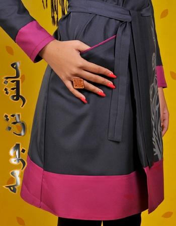 فروش پستی مدل جدید مانتو های پاییزه دخترانه مدل جدید رنگی