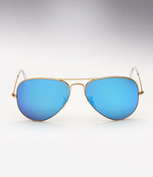 خرید عینک ریبن خلبانی شیشه آبی مدل 3025