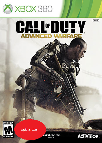 Call of Duty Advanced Warfare xbox360 cover small دانلود بازی Call of Duty Advanced Warfare برای XBOX360