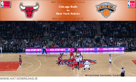 NBA.2014.10.29.Knickst.Bulls.Cover دانلود مسابقات ان بی ای   NBA 2014.10.29 Chicago Bulls Vs New York Knicks