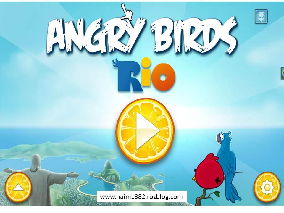 دانلود بازی angry birds rio