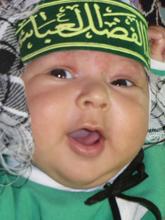 شهید شیرخوار کربلا ، حضرت علی اصغر (ع)