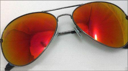 عینک خلبانی شیشه آتشی طرح ریبن