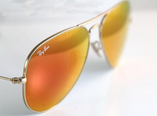 خرید عینک آفتابی زنانه ریبن شیشه آتشی