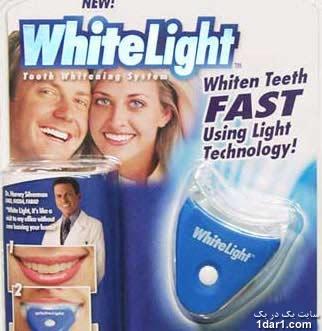 خرید دستگاه سفید کننده دندان