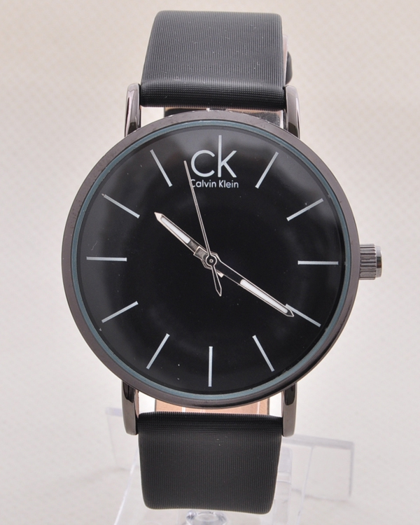 خرید ساعت مردانه سی کی بند چرمی|کلاک men- آرنا