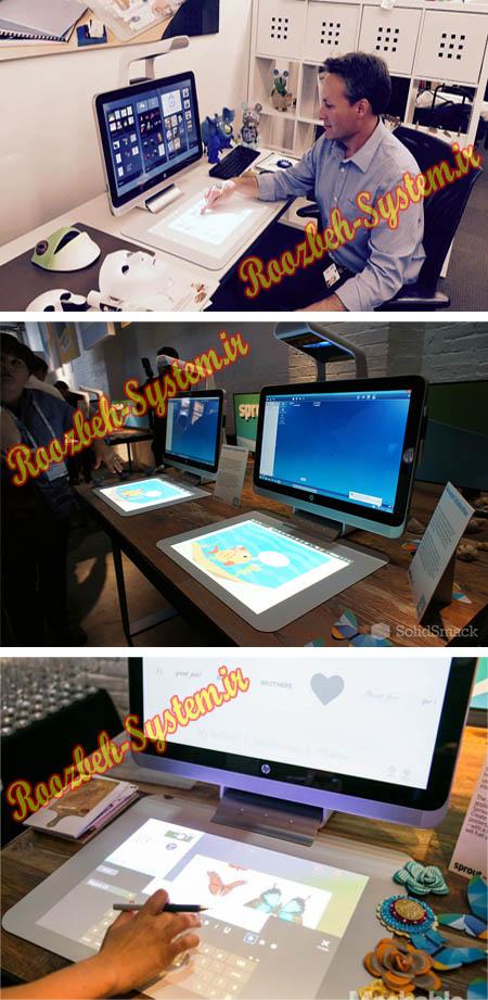 کمپانی اچ پی کامپیوتر بدون صفحه کلید و موس عرضه کرد + تصاویر