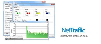 مدیریت ترافیک مصرفی اینترنت با نرم افزار NetTraffic 1.27.4