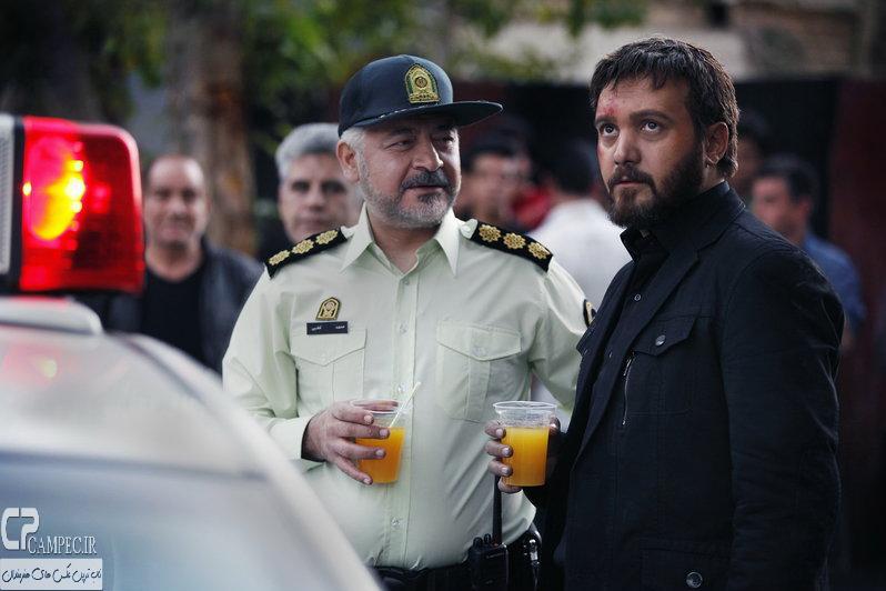 کامبیز دیرباز و مجید مشیری در سریال میکائیل