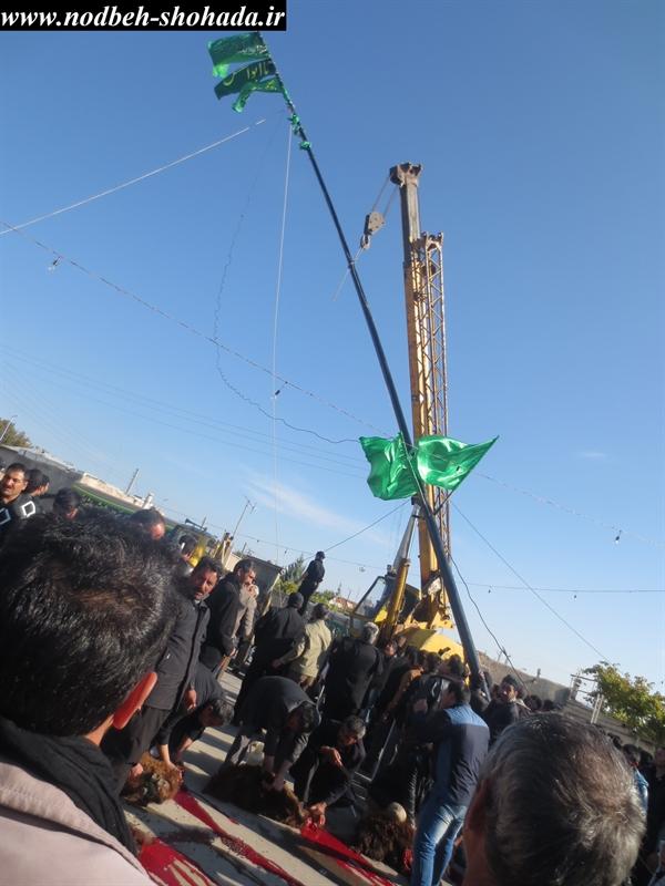 مراسم علم بندان سوم ماه محرم پهرآباد مراغه