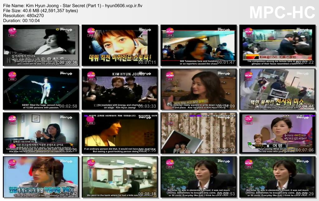 Eng Sub_Kim Hyun Joong - Star Secret