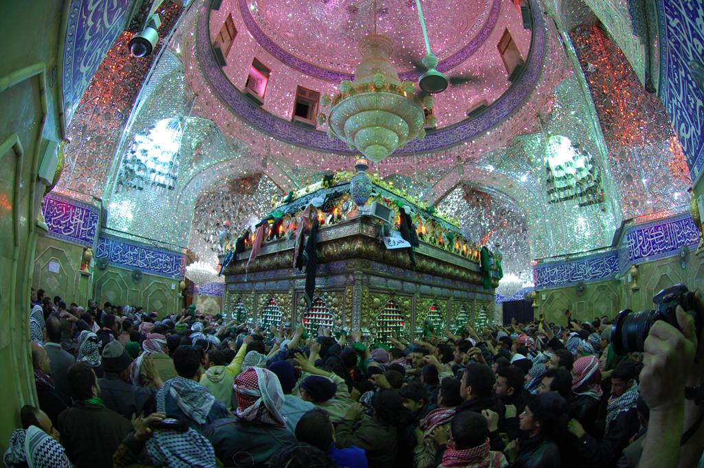 عکس و پوستر مذهبی با موضوع ضریح مطهر حضرت ابوفاضل(ع)