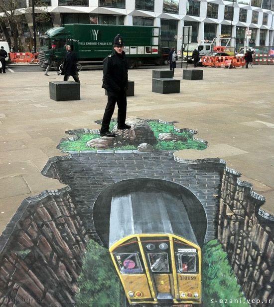 لندن - بریتانیا - اثر سرویس تبلیغاتی خیابانی (SAS)3_صفحه شخصی صابر اذعانی