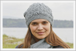 کلاه و شال گردن زنانه