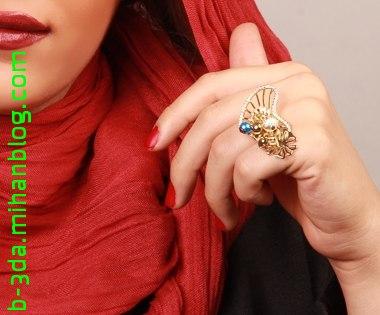 فروش انگشتر قلب angelica دارای طراحی بسیار مدرن دخترانه