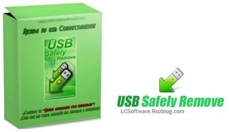 قطع ایمن حافظه های جانبی با USB Safely Remove 5.2.1.1195 Final